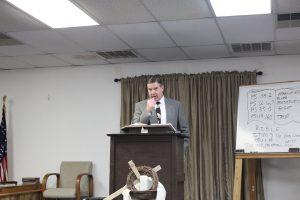 Pastor Bryan Spurgin