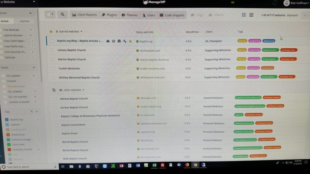 WordPress Updating Tool