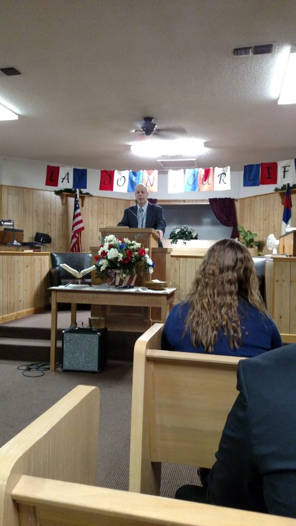 Bob Hoffman Preaching 3rd Annual Old Fashioned camp meeting